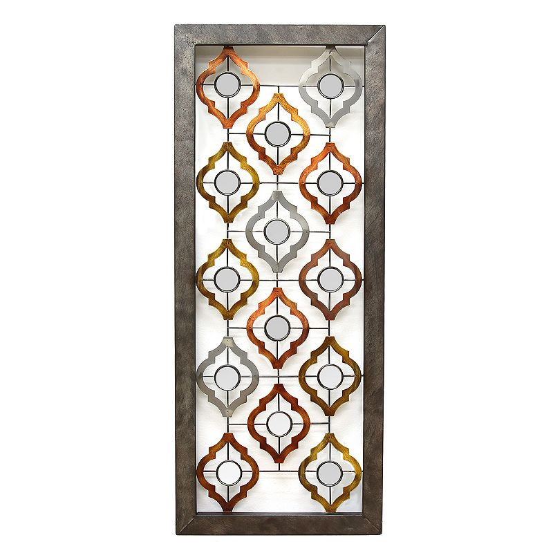 Stratton Home Decor Geometric Panel II Wall Decor