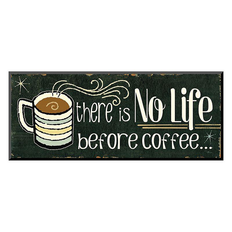 Kohls Coffee Wall Decor : Art quot funny coffee ii wall dealtrend