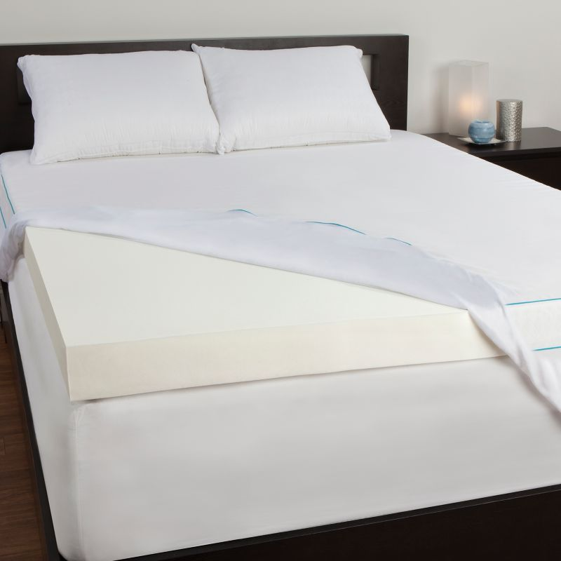 Sealy Memory Foam White Bedding