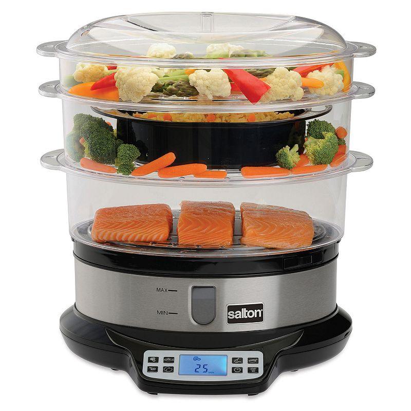 Salton Programmable Steamer & Rice Cooker