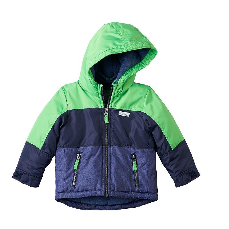 Carter S Colorblock Fleece Lined Jacket Toddler Boy