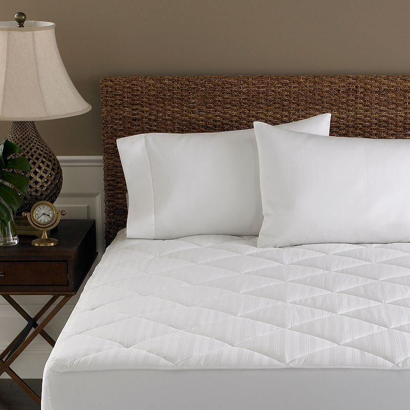 Cotton Quilted Mattress Topper Kohl S