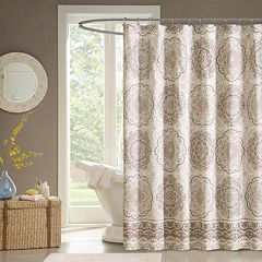 Madison Park Fairview Fabric Shower Curtain by