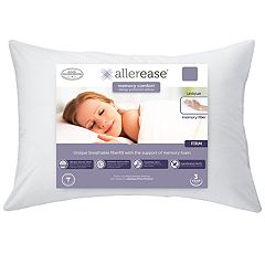 Allerease Custom Comfort Memory Fiber Pillow by