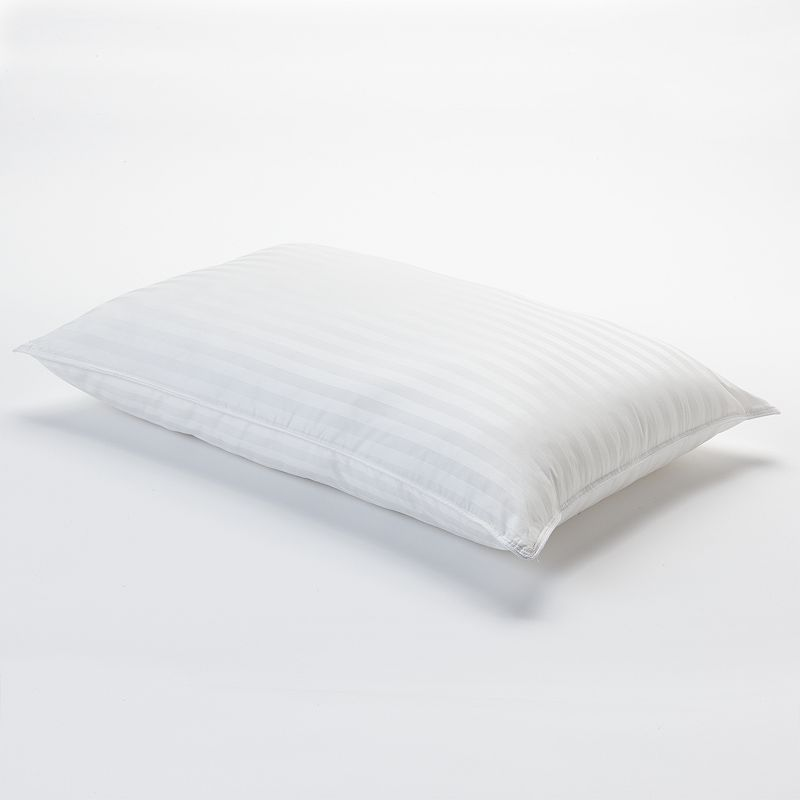 Spring Air Affinity Striped 400-Thread Count Down-Alternative Pillow
