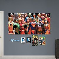 DC Comics Heroes Mural Wall Decal by Fathead