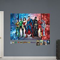 DC Comics Justice League Mural Wall Decal by Fathead