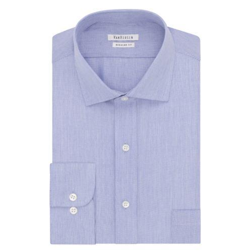 Men's Van Heusen Regular-Fit Striped Cutaway Collar Button-Down Collar Dress Shirt