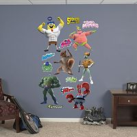 SpongeBob SquarePants Out of Water Superheroes Collection Wall Decals by Fathead