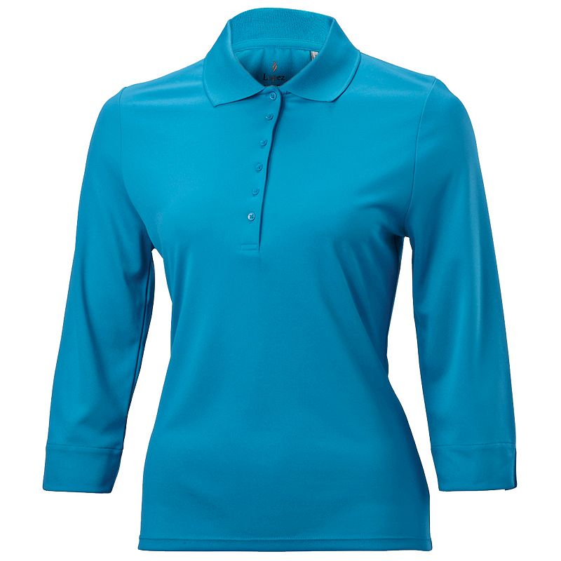 Nancy Lopez Luster Golf Top - Women's