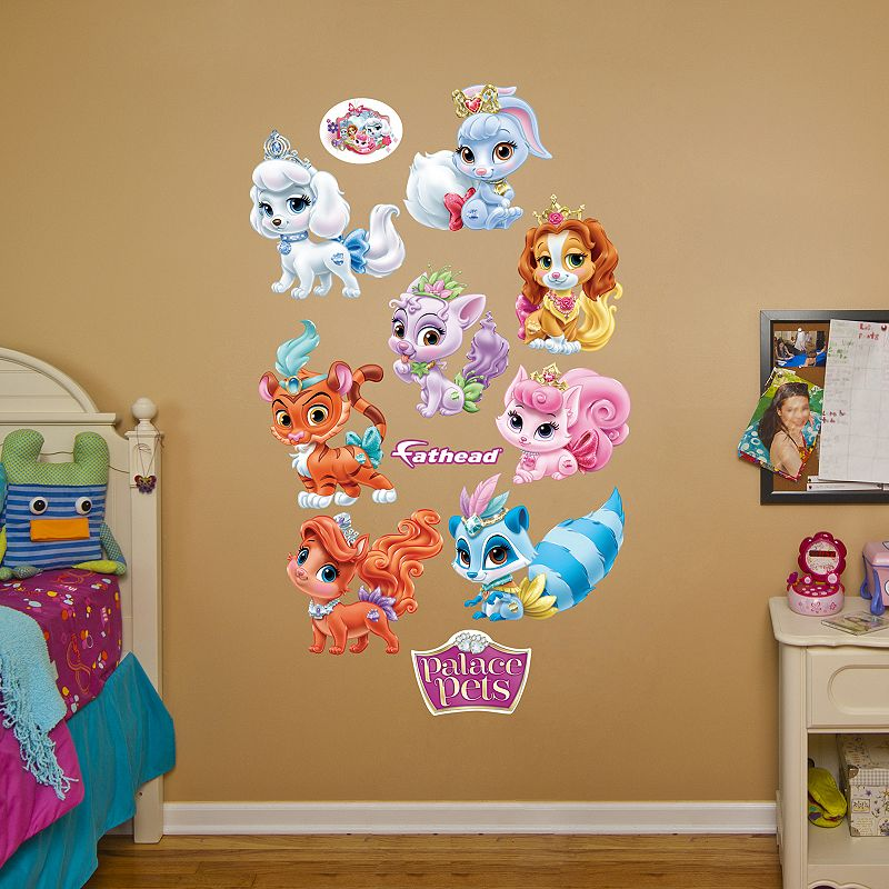 Disney Princess Palace Pets Collection Wall Decals by Fathead
