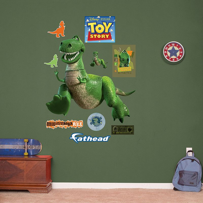 Disney / Pixar Toy Story Rex Wall Decals by Fathead