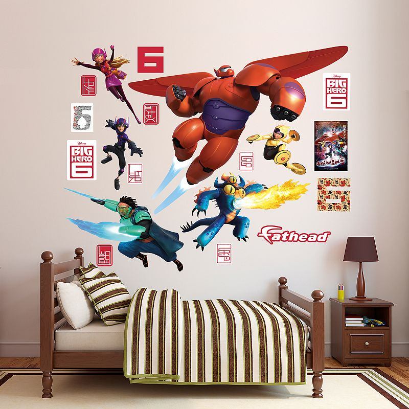Disney's Big Hero 6 Collection Wall Decals by Fathead