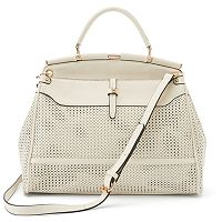 Mellow World Giselle Perforated Convertible Satchel