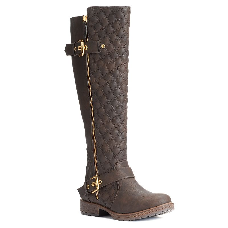Candie's® Women's Quilted Tall Boots