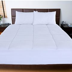 Stayclean Nanofibre Microfiber Mattress Pad  by
