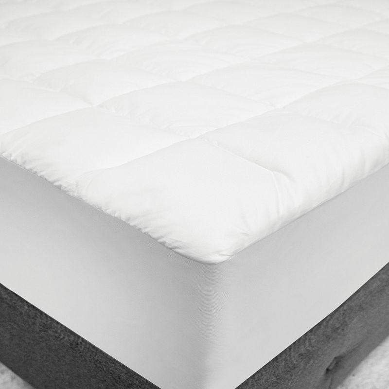 SensorPEDIC SensorLOFT Luxury Top Loft Down-Alternative Gel Fiber Mattress Pad
