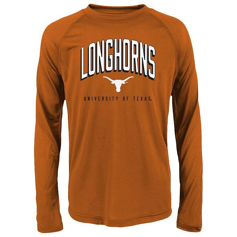 Boys 4-7 Texas Longhorns Performance Tee