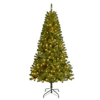 7-ft. Pre-Lit Artificial Christmas Tree