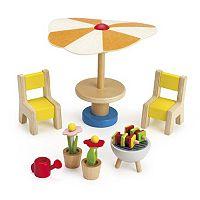 Hape Backyard Patio Furniture Set