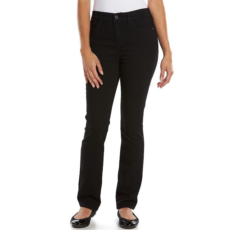 Petite Gloria Vanderbilt Jordyn Curvy Denim Bootcut Jeans