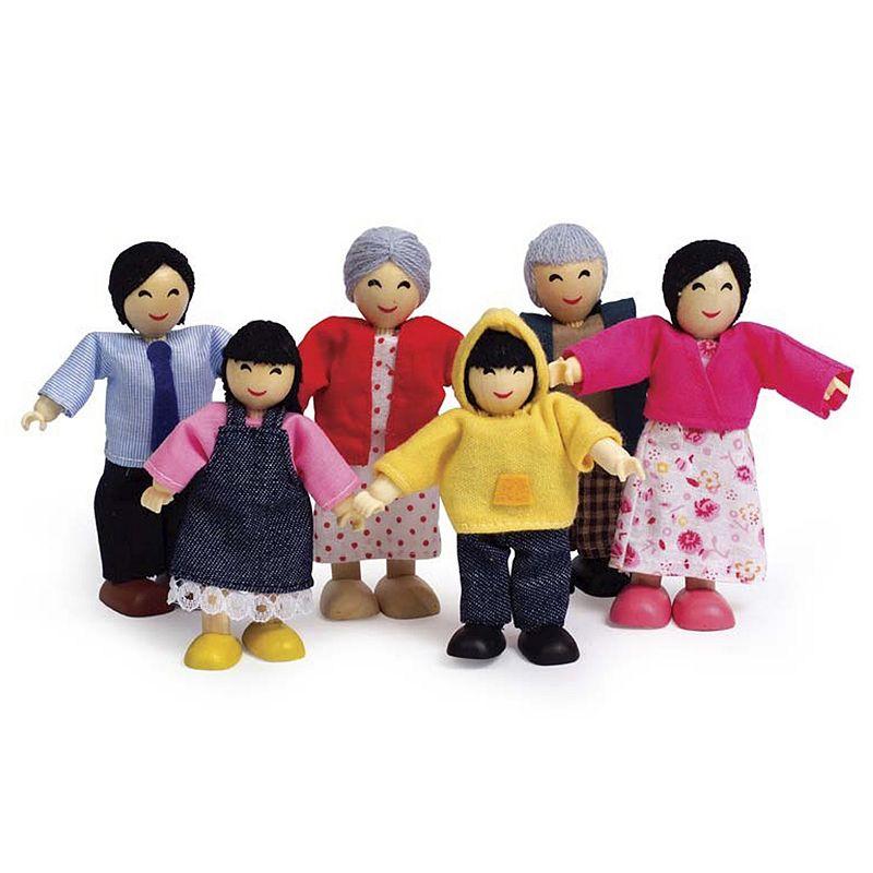 Hape Happy Family Doll Set - Asian