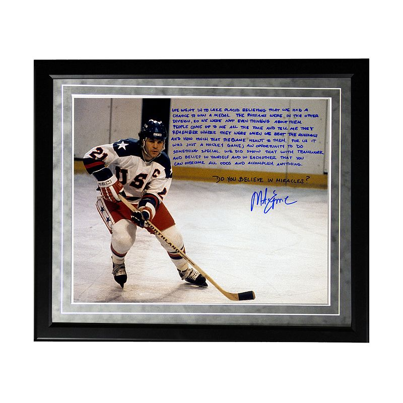 Steiner Sports USA Hockey Mike Eruzione Miracle Facsimile 16