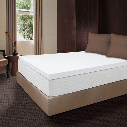 Dream Therapy 2 In Memory Foam Mattress Topper