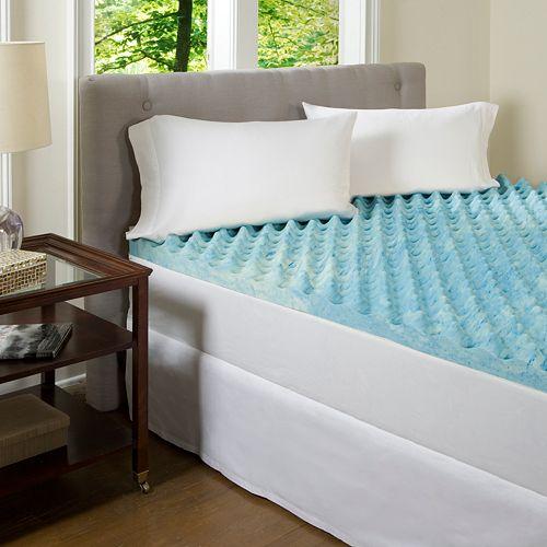 Comforpedic Beautyrest Big Comfort 3 In Gel Memory Foam