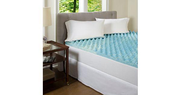 Comforpedic Beautyrest Big Comfort 3 In Gel Memory Foam Mattress Topper