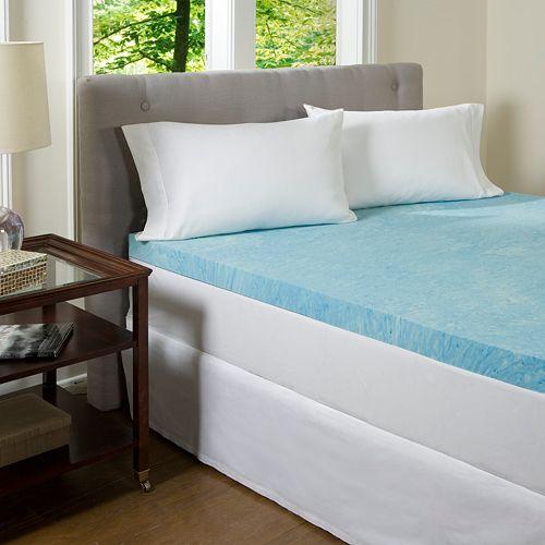 comforpedic beautyrest 3 in gel memory foam mattress topper twin ebay. Black Bedroom Furniture Sets. Home Design Ideas