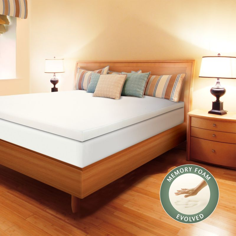 Enhance 3 in Memory Foam Mattress Topper