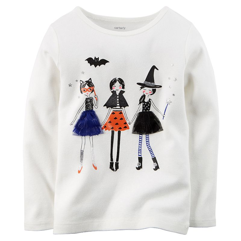 Baby Girl Carter's Halloween Girls Tee