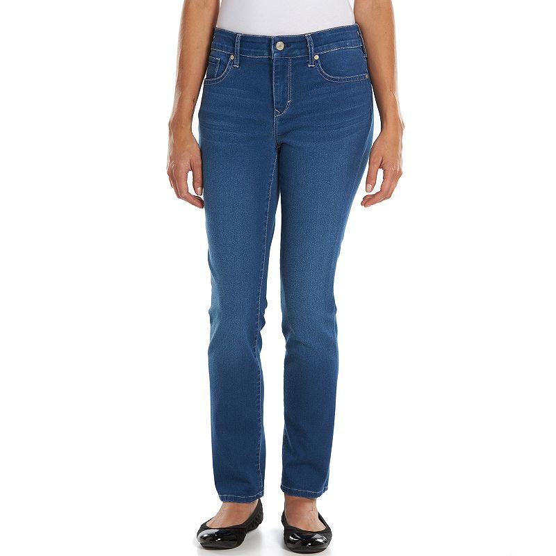 Petite Gloria Vanderbilt Bridget Slim Skinny Jeans, Women's, Size: 12P-SHORT, Blue
