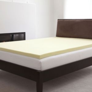Natural Pedic 2-in. Memory Foam Mattress Topper