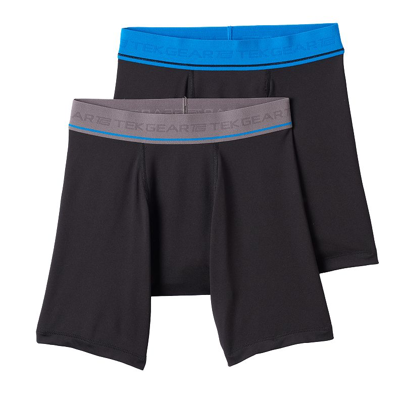 Boys 8-20 Tek Gear® 2-Pack DryTEK Long Performance Boxer Briefs