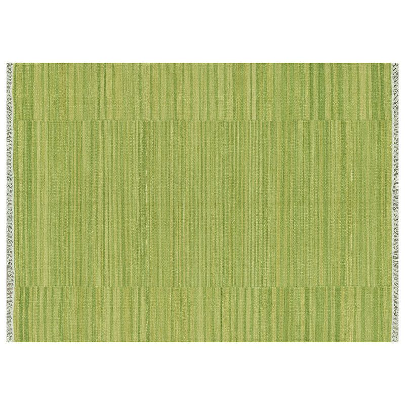 Loloi Anzio Fringe Striped Wool Rug