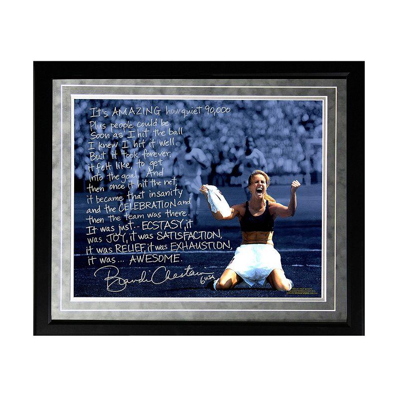 Steiner Sports Brandi Chastain 1999 World Cup Game-Winning Penalty Kick Facsimile 16