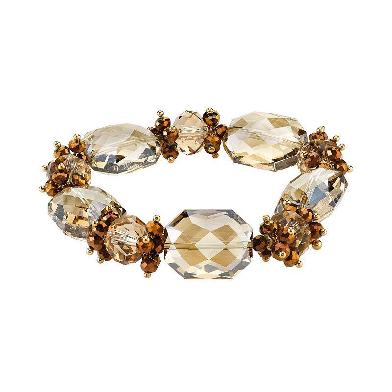 1928 Bead Stretch Bracelet