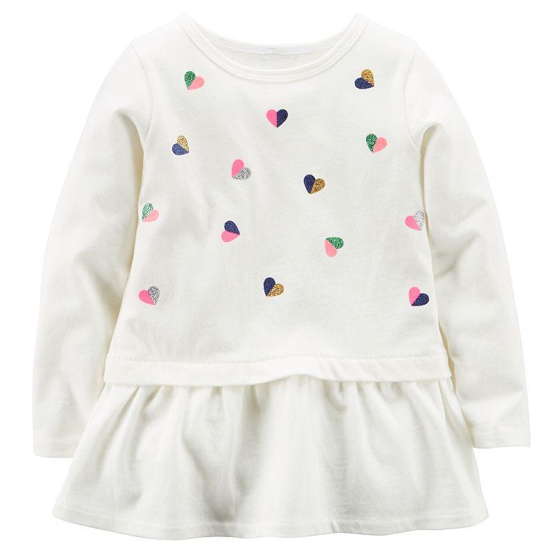 Baby Girl Carter's Heart Tunic