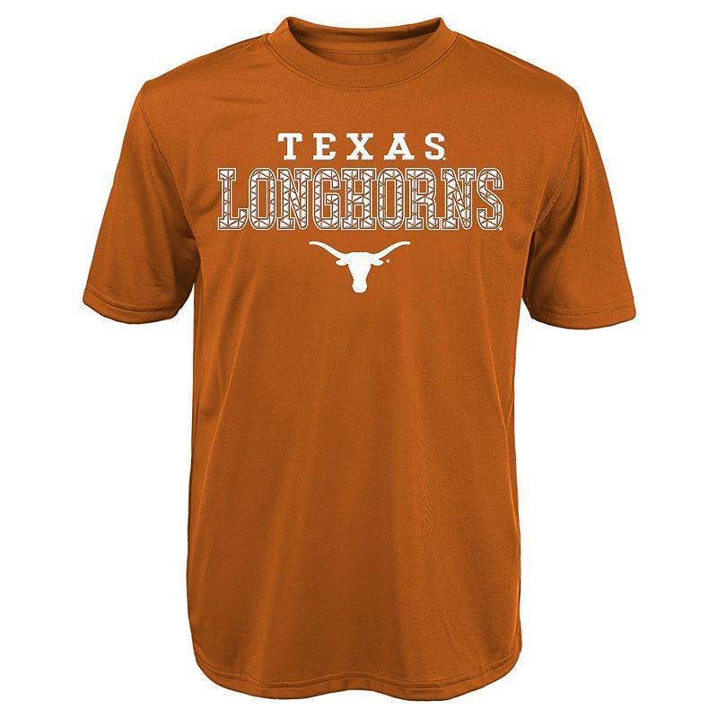 Boys 4-7 Texas Longhorns Fulcrum Performance Tee