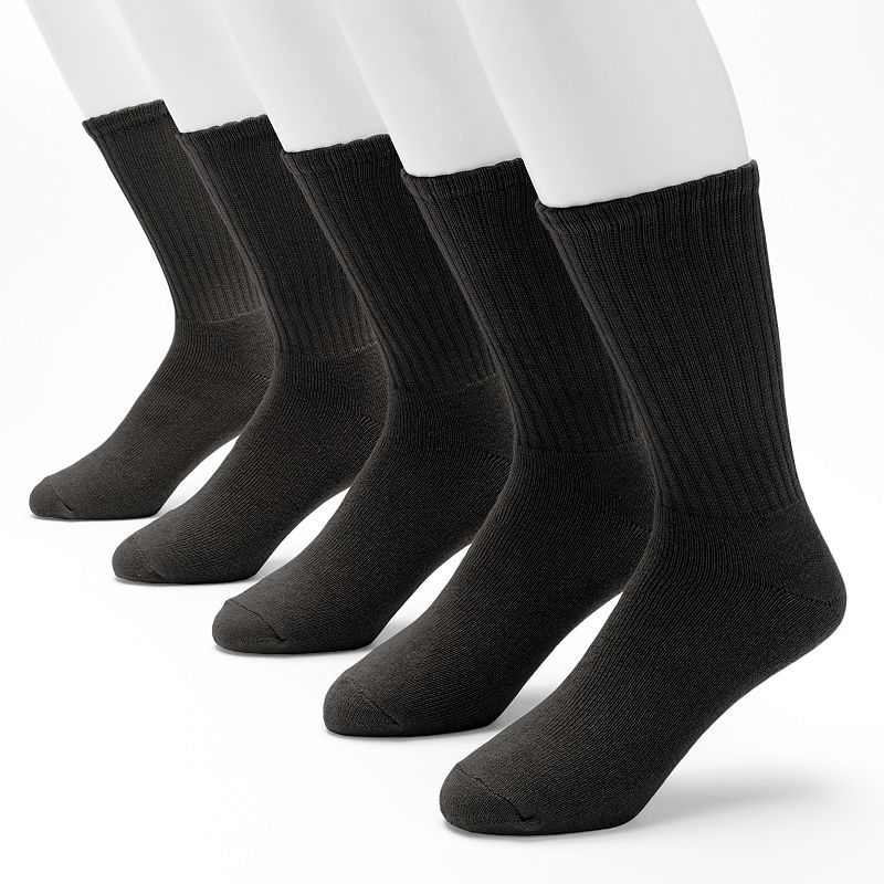 Men's Croft & Barrow 5-pack Cushioned Crew Socks