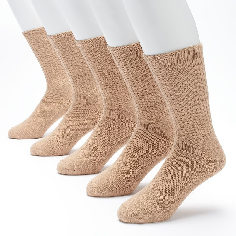 Men's Croft & Barrow 5-pack Cushioned Crew Socks