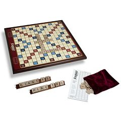 Giant Scrabble Deluxe Wood Edition by Winning Solutions by