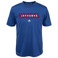 Boys 4-7 adidas Kansas Jayhawks Shock Energy Climalite Short-Sleeve Tee