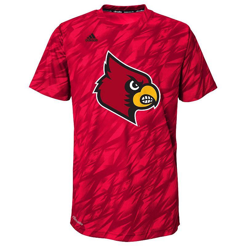 Boys 4-7 adidas Louisville Cardinals Mark My Words Climalite Tee