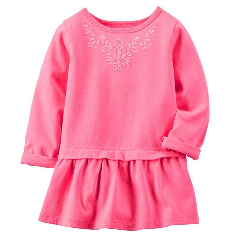 Baby Girl Carter's Embroidered Peplum Tunic
