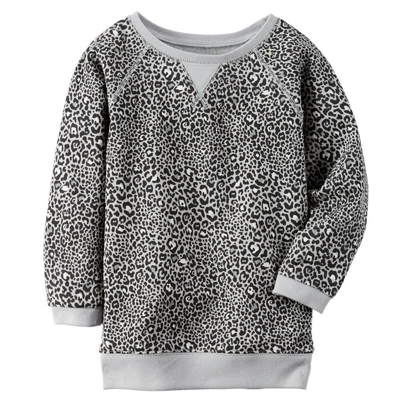 Baby Girl Carter's Printed French Terry Tunic