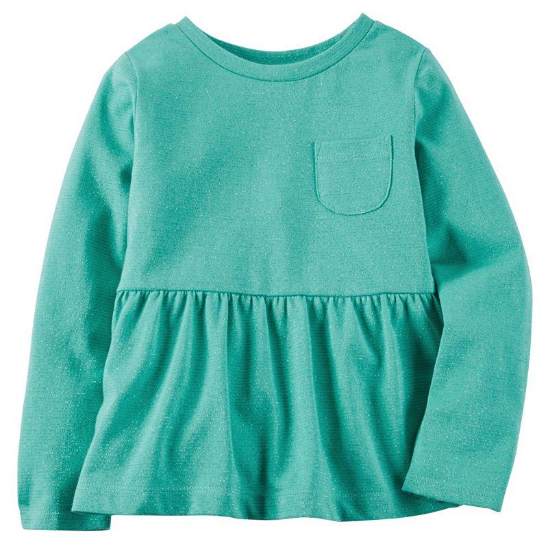 Baby Girl Carter's Lurex Peplum Tunic