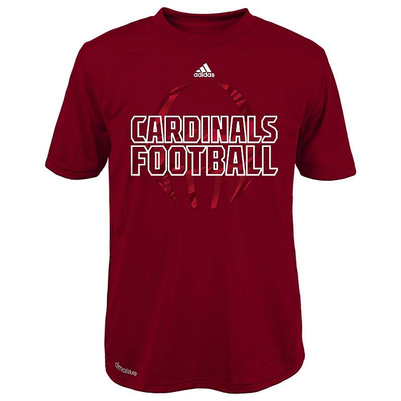 Boys 4-7 adidas Louisville Cardinals Sideline Helmet Shock Energy Tee